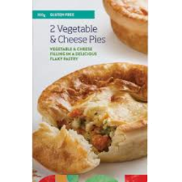 Photo of Pavillion Foods Gluten Free Vegetable & Cheese Pie 2 Pack