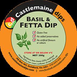 Photo of Castlemaine Dip Basil & Fetta 200gm