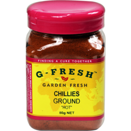 Photo of Gfresh Chillies Ground Hot 80gm