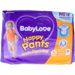 Photo of Babylove Nappy Pants Walker 25s