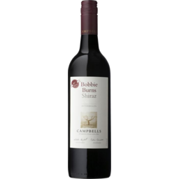 Photo of Campbells Bobbie Burns Shiraz 750ml
