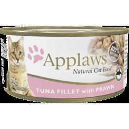 Photo of Applaws Cat Food Can Tuna & Prawn 70g