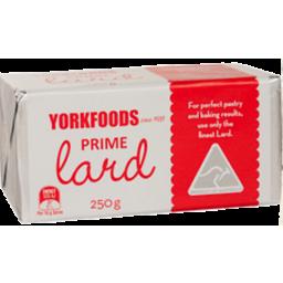 Photo of Yorkfoods Lard 250gm