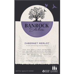 Photo of Banrock Station Cabernet Merlot  2L