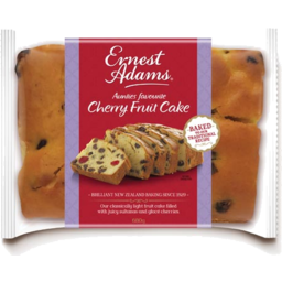 Photo of Ernest Adams Cake Cherry Fruit 680g