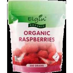Photo of Elgin Organic Raspberries 350g