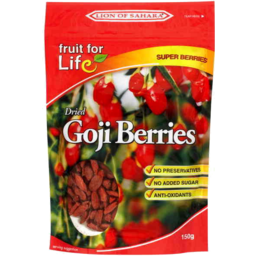 Photo of Fruit For Life Dried Goji Berries 150gm