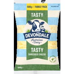 Photo of Devondale Tasty Shredded Cheese 600g