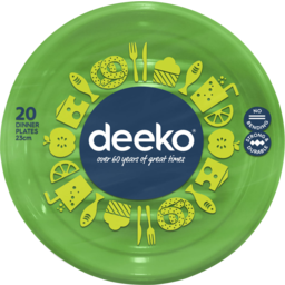 Photo of Deeko Dinner Plates 20 Pack