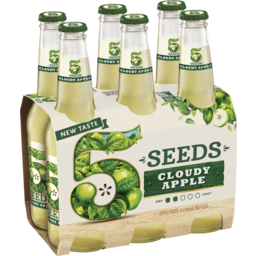 Photo of Tooheys 5 Seeds Cloudy Apple Bottle 345ml 6 Pack