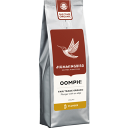 Photo of Hummingbird Coffee Bean Oomph Plunger 200g