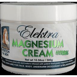 Photo of Elektra Magnesium Cream - Herbal 300g