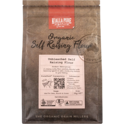Photo of Kialla Pure Organics Unbleached Self Raising Flour 1kg
