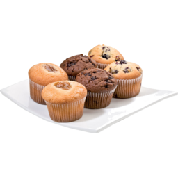 Photo of Muffins Mixed 6 Pack