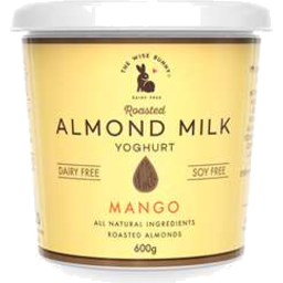 Photo of The Wise Bunny Almond Milk Yogurt Mango 600g