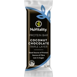 Photo of Nuvitality Bar Protein Chocolate Coconut 30g