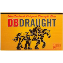Photo of DB Draught Bottles 24 x 330ml Bottles