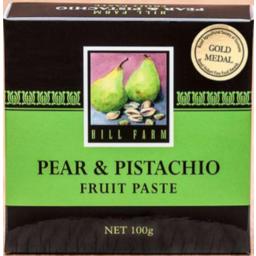 Photo of Hill Farm Paste Pear & Pistachio 100gm