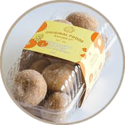 Photo of Original Foods Mini Cinnamon Dusted Donuts 13 Pack
