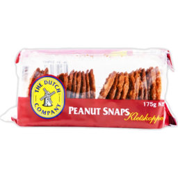 Photo of The Dutch Company Peanut Snaps 175g