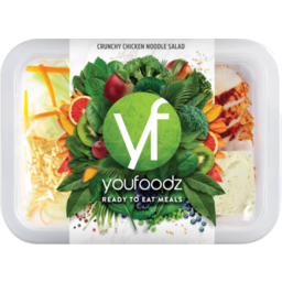 Photo of Youfoodz Crunchy Chicken Noodle Salad 330g