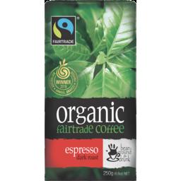 Photo of Bean Ground & Drunk Organic Espresso Ground Coffee