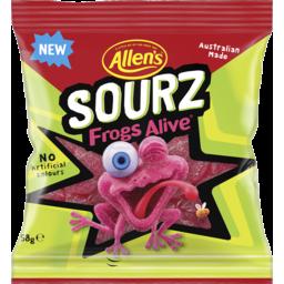 Photo of Allen's Sourz Frogs Alive Lollies 58g