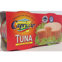 Photo of Capriccio Tuna Olive Oil 2x160g