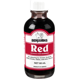 Photo of Benjamins Food Colour Red