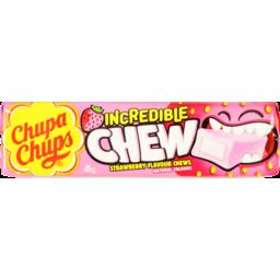 Photo of Chupa Chups Incredible Chews Strawberry 45g