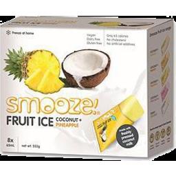 Photo of Smooze Fruit Ice Pinapple And Coconut 8x65ml