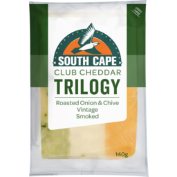 Photo of South Cape Trilogy Roasted Onion & Chives Vintage Smoked 140g