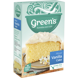 Photo of Greens Traditional Moist Vanilla Cake 470g