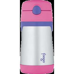 Photo of Thermos Foogo Straw Bottle (Pink)