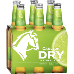 Photo of Carlton Dry Lime Stubbies