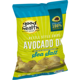 Photo of Good Health Avocado Oil Kettle Style Chips Sea Salt