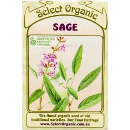 Photo of Select Organic Seeds - Sage 50 seeds
