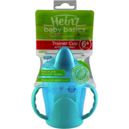 Photo of Heinz Baby Basics Trainer Cup With Handle Stage 3 6 Months +