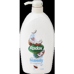 Photo of Radox Shower Gel Coconut Rush 1