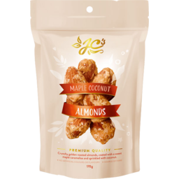 Photo of JC's Maple Coconut Almonds 170gm