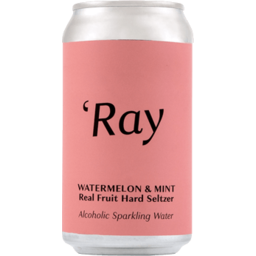 Photo of 'Ray Watermelon & Mint Hard Seltzer Can