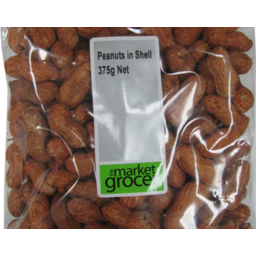 Photo of The Market Grocer Peanuts in Shell 375gm