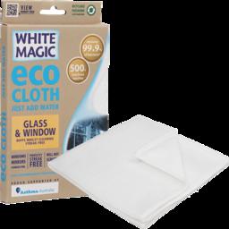 Photo of White Magic Eco Cloth - Glass & Window