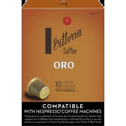 Photo of Vittoria Coffee Oro Capsules 10pk