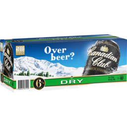 Photo of Canadian Club 6% & Dry Cans