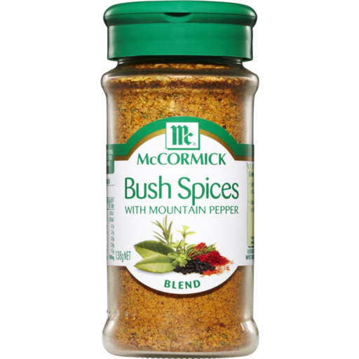 McCormick Bush Spices With Mountain Pepper 138g