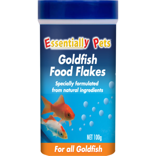 Essentially Pets Goldfish Food Flakes For All Goldfish 100g