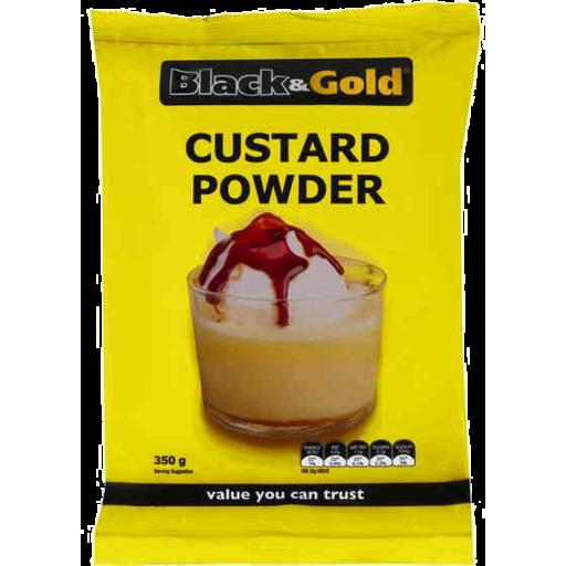 Black & Gold Custard Powder 350gm - Marks Supa IGA