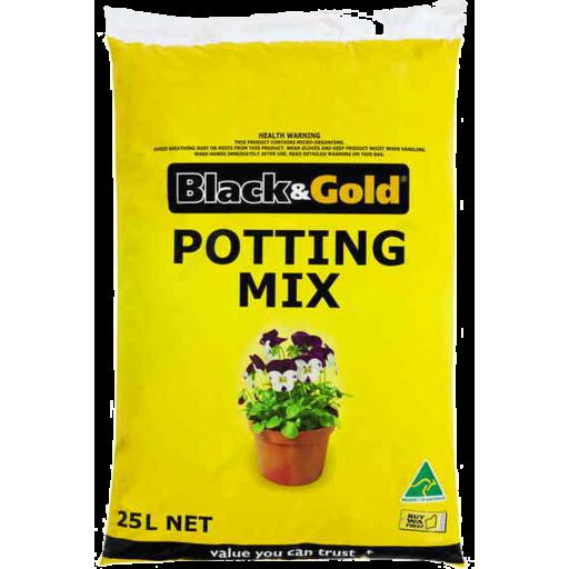 Black & Gold Potting Mix 25kg - Marks Supa IGA