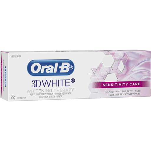 Oral-B 3D White Sensitivity Care Whitening Therapy
